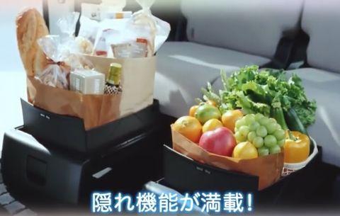 高畑充希のCM動画の車「ダイハツムーヴキャンバス」の機能等の画像2