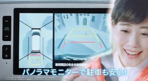 高畑充希のCM動画の車「ダイハツムーヴキャンバス」の機能等の画像4