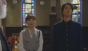 兄高田隆一(桐谷健太)と矢作梓(倉科カナ)が訪れた教会のロケ地シーン2