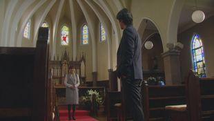 兄高田隆一(桐谷健太)と矢作梓(倉科カナ)が訪れた教会のロケ地シーン7