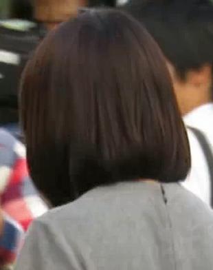 有村架純の髪型・ミディアムボブ~美容室・美容院でのオーダー注文に使える!後ろ・背面