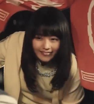 競馬G1「天皇賞春」の有村架純出演CMの際の髪型「ロングヘア」3正面