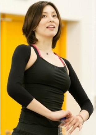 カップ・バストサイズの参考になりそうな、米倉涼子の画像