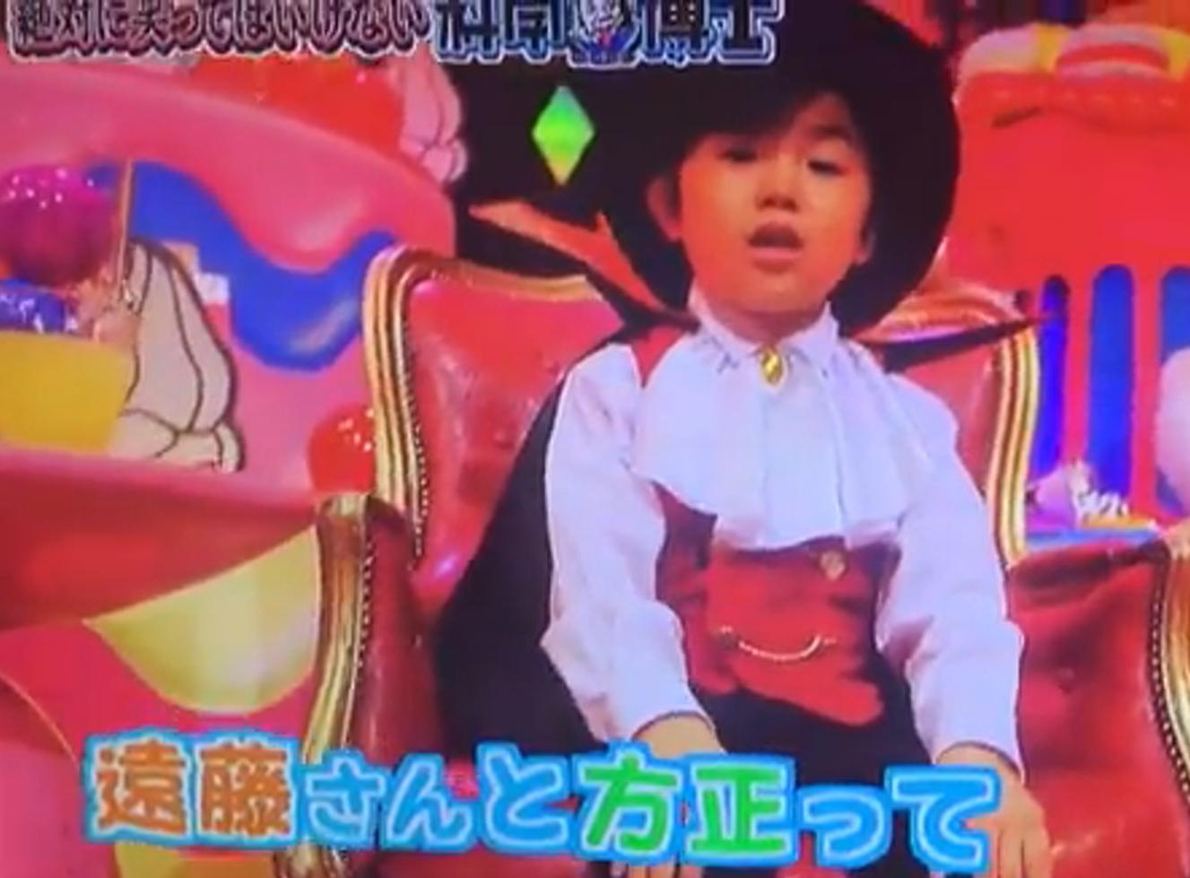 2016-2017年のガキの使いやあらへんで「笑ってはいけない科学博士24時!」小悪魔的な役を演じる寺田心くん