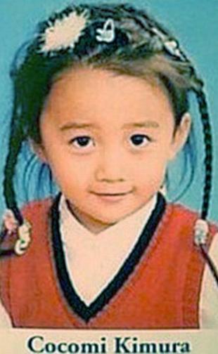 木村拓哉の子供の画像。長女「木村心美ちゃん」