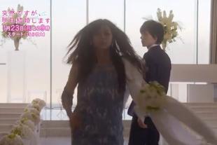 高梨あすかは他人の結婚式でアナウンサー名波竜(ナナリュー・flumpool山村隆太)と最悪な出会い2