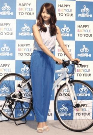 堀北真希は、体重が8kgも太ってしまってダイエットとして自宅から撮影現場へ自転車で通っていたらしい