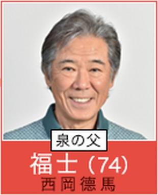 根本加穂子カホコのおじいちゃん。福士(西岡徳馬)ドラマ「過保護のカホコ」キャスト