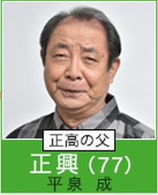 根本加穂子カホコのおじいちゃん。正興(平泉成)ドラマ「過保護のカホコ」キャスト