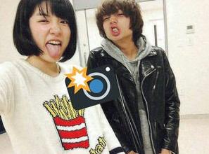 永野芽郁と伊野尾慧ツーショット写真画像・映画「ピーチガール」共演者との画像も合わせて8枚の流出写真3