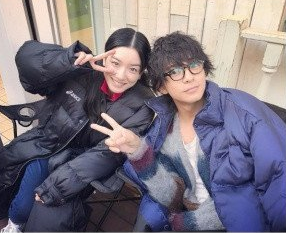 永野芽郁と三浦翔平とのインスタでのツーショット