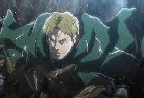 2013年に放送された人気アニメ「進撃の巨人」の調査兵団の兵士「モーゼス」