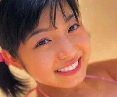 中村静香の中学生時代の写真