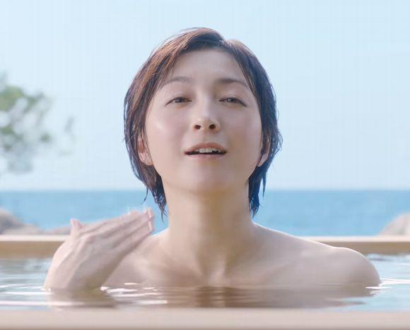 のんある気分CM~温泉上がり~広末涼子の現在のカップ数/バストサイズとスリーサイズ!身長や体重も